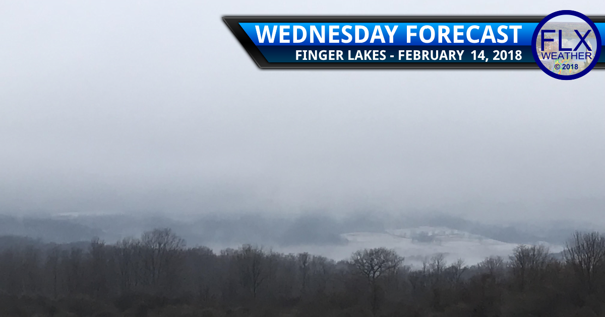 Warm air returns to the Finger Lakes