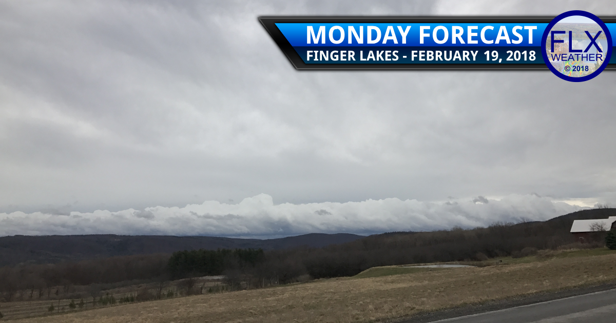 Monday rain brings extreme warmth to the Finger Lakes