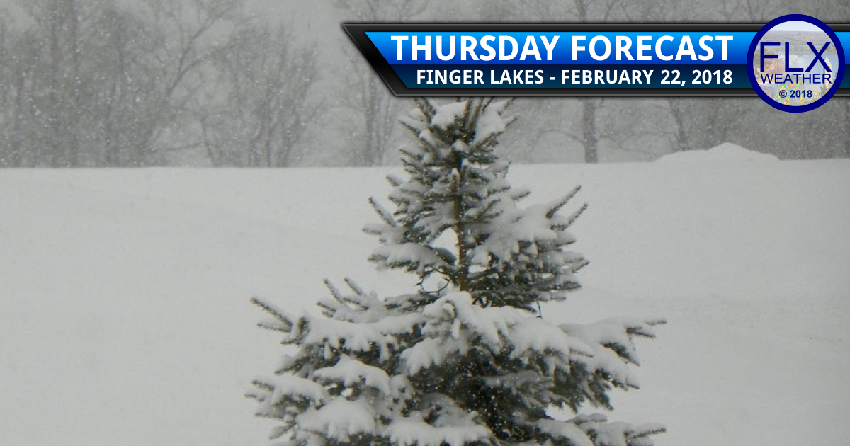finger lakes weather forecast thursday february 22 snow accumulation