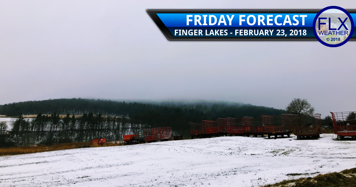 Back to rain for the Finger Lakes Friday