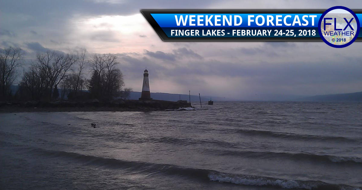 More rain and wind for the Finger Lakes this weekend