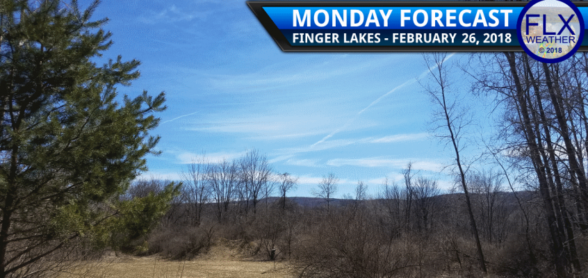 finger lakes weather forecast monday february 26 2018 sunny mild high pressure