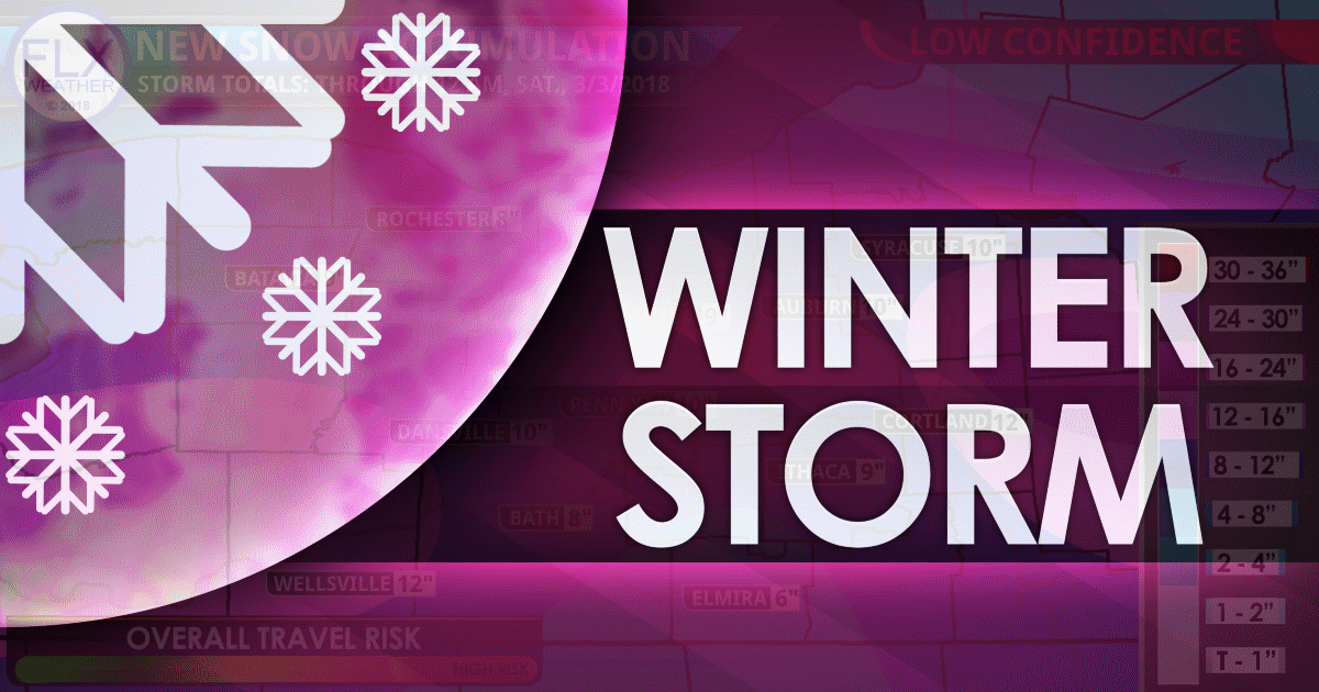 Friday March 2 Winter Storm: Forecast Details & Snow Map