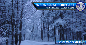 finger lakes weather forecast noreaster snowstorm snow map