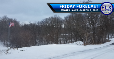 finger lakes weather forecast fridya march 9 2018 snow lake effect wind accumulation map