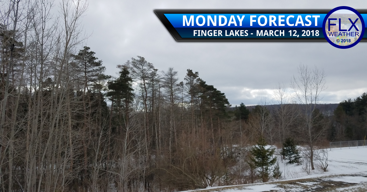 finger lakes weather forecast monday march 12 2018 winter snow cold noreaster