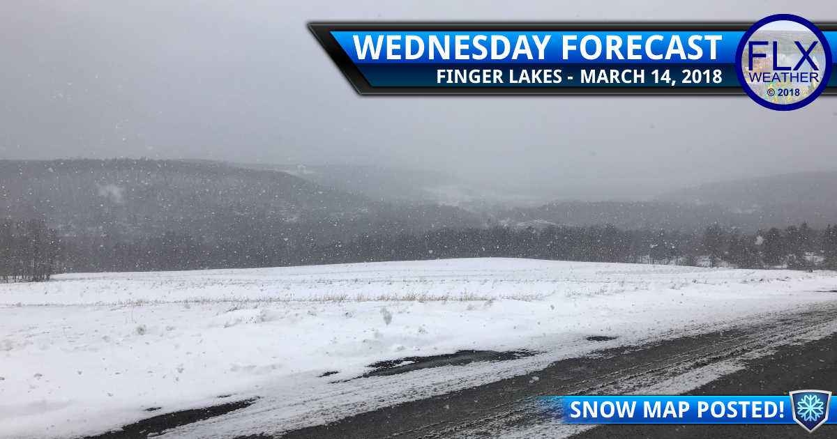 finger lakes weather forecast update windy snow accumulation map winter storm warning