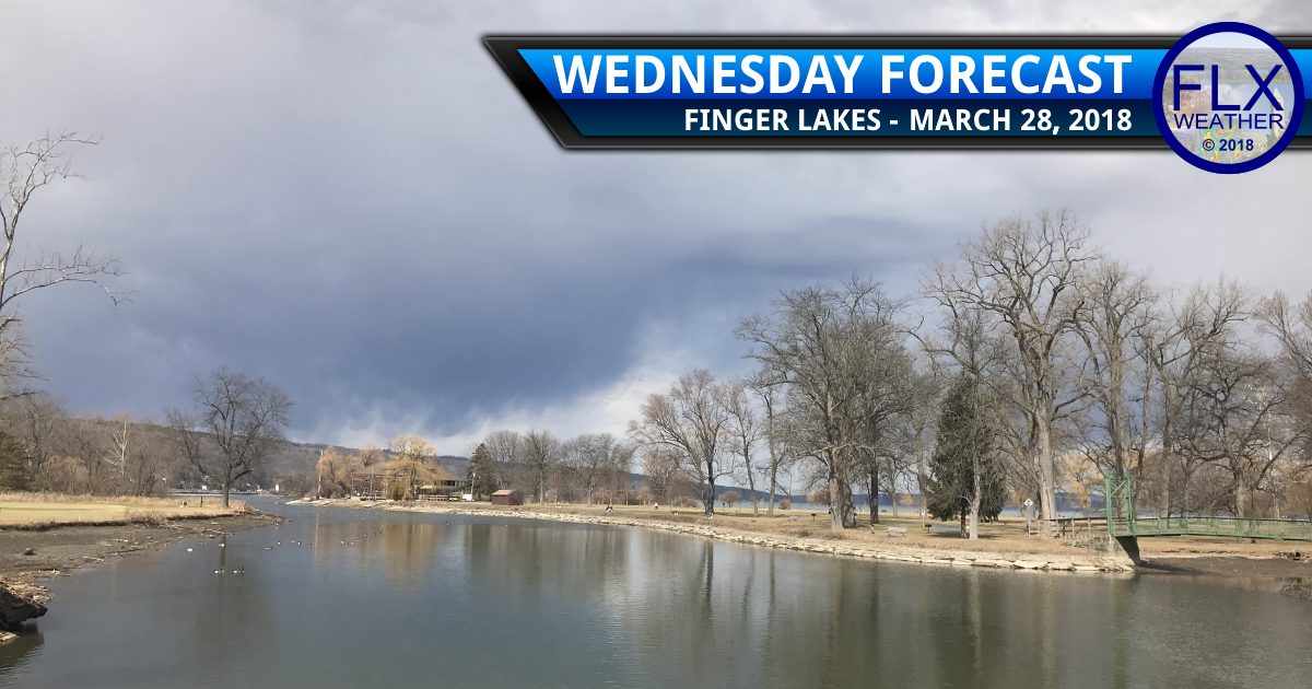 Rain stops for Wednesday but clouds remain