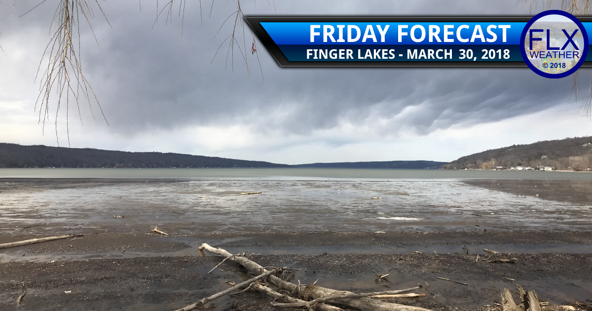 finger lakes weather forecast friday march 30 2018 rain snow easter weekend