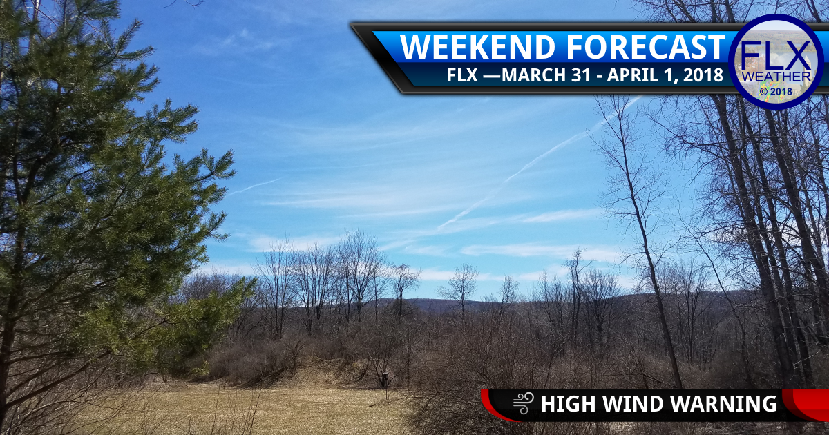 Windy Easter Weekend Weather for the Finger Lakes