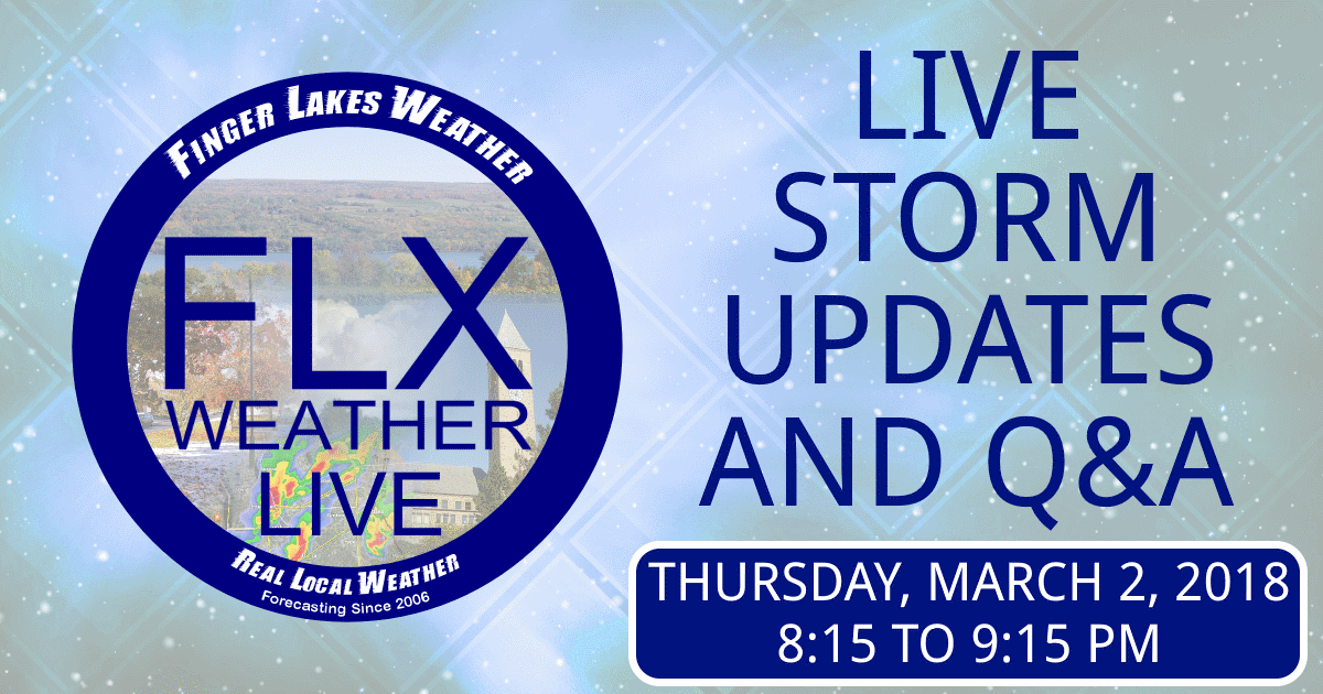 Live Video Stream- Thursday Evening Storm Updates and Q&A