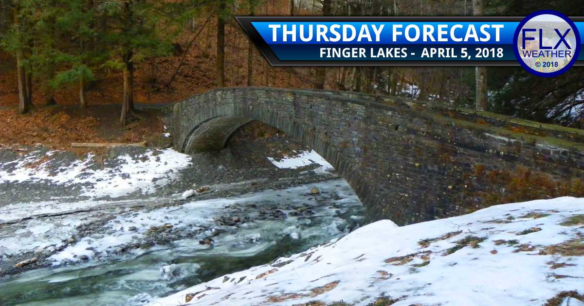 finger lakes weather forecast thursday april 5 2018 lake effect snow wind cold