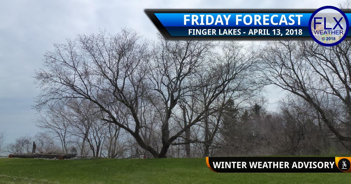 finger lakes weather forecast friday april 13 2018 saturday april 14 2018 freezing rain winter weather advisory