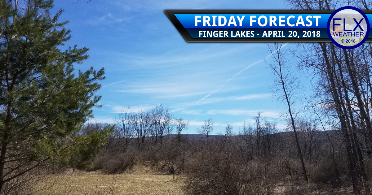 finger lakes weather forecast sun warmer spring