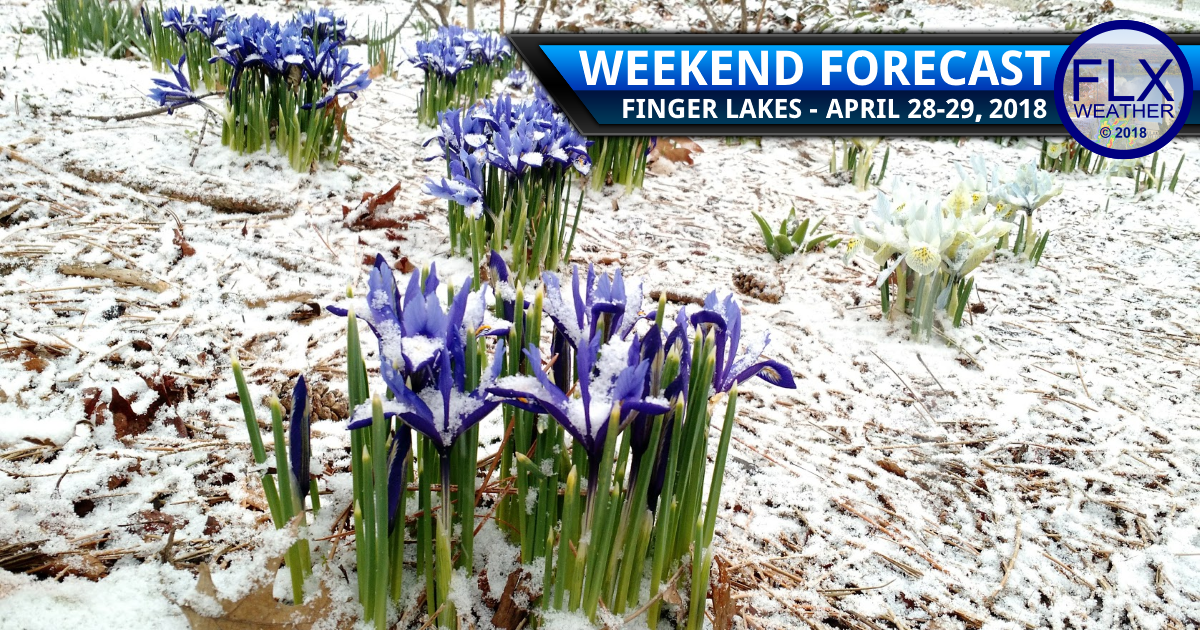 Rain Saturday leads to snow Sunday in the Finger Lakes