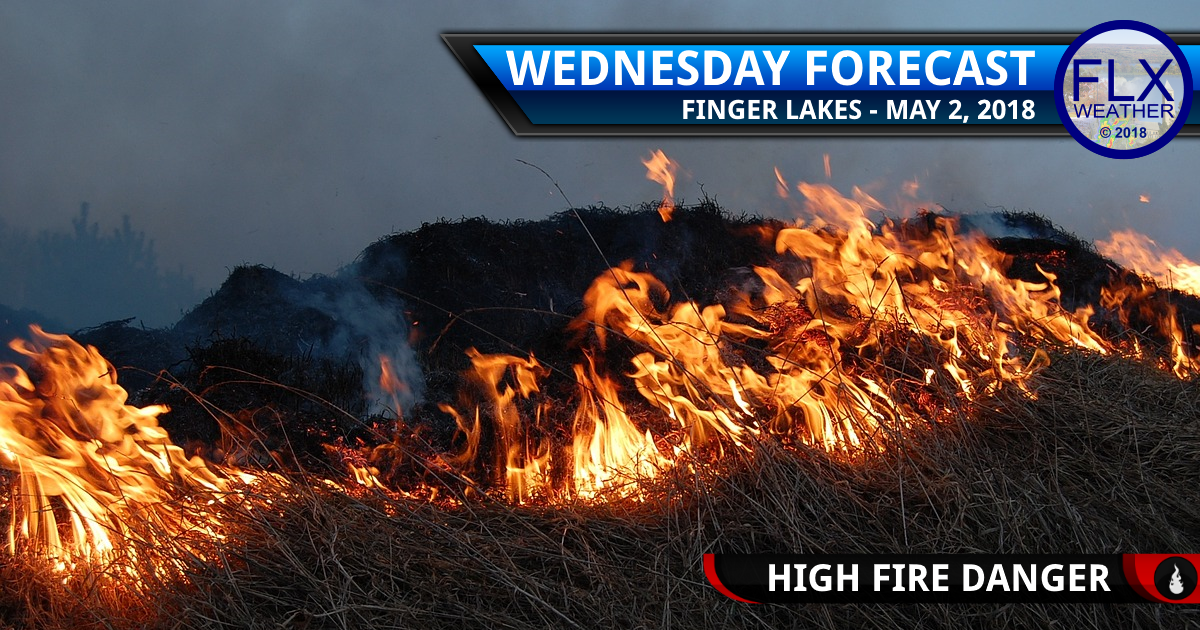 finger lakes weather forecast wednesday may 2 2018 red flag warning fire danger