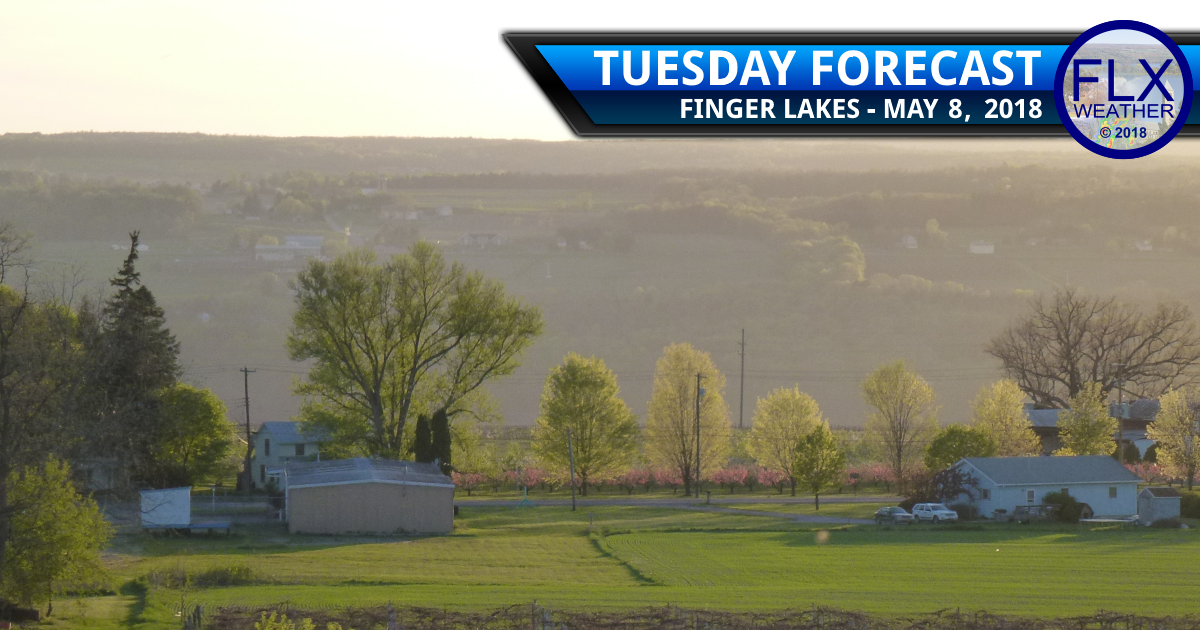 finger lakes weather forecast tuesday may 8 2018 sunny warm