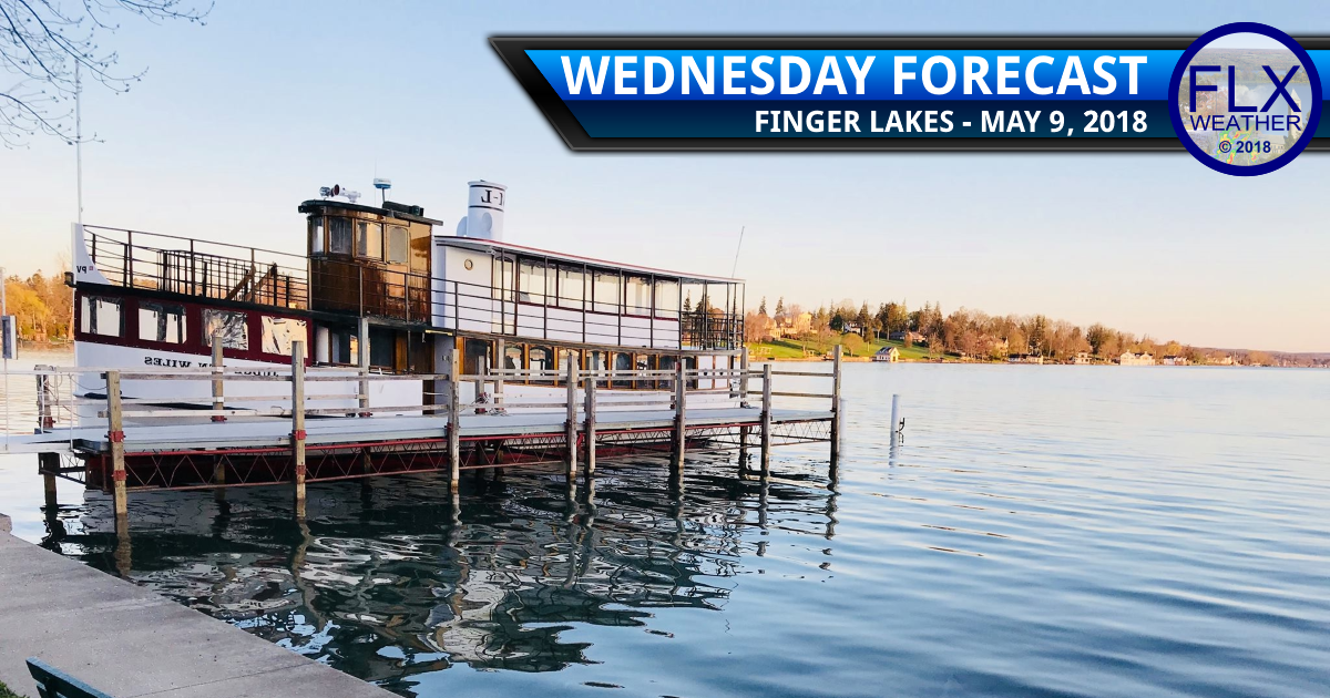 finger lakes weather forecast wednesday may 9 2018 sunny warm