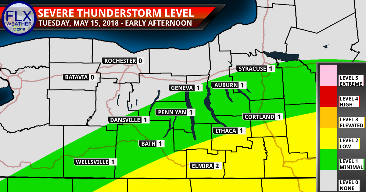 finger lakes weather forecast tuesday may 15 2018 severe thunderstorms
