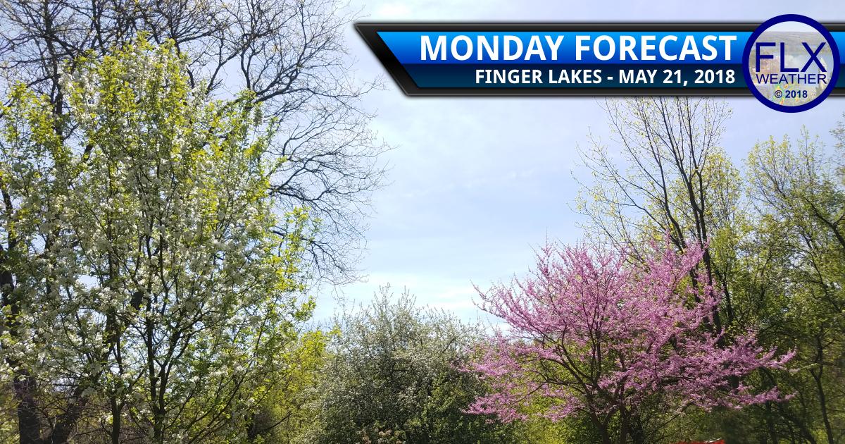 finger lakes weather forecast monday may 21 2018 weekly outlook