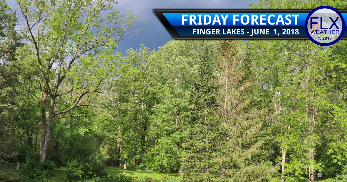 finger lakes weather forecast friday june 1 2018 thunderstorms flash flooding