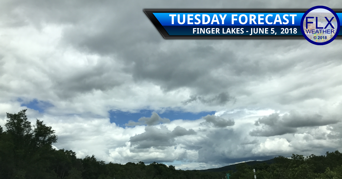 finger lakes weather forecast tuesday june 4 2018 cool weather