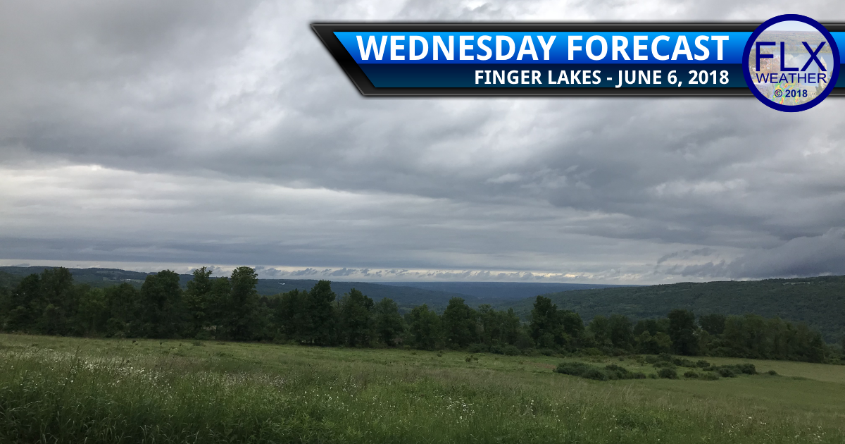 finger lakes weather forecast wednesday june 6 2018 below normal temperatures