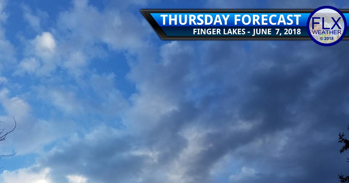 finger lakes weather forecast thursday june 7 2018 warmer