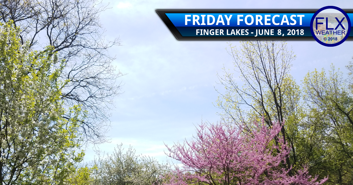 finger lakes weather forecast friday june 8 2018 sun clouds warm