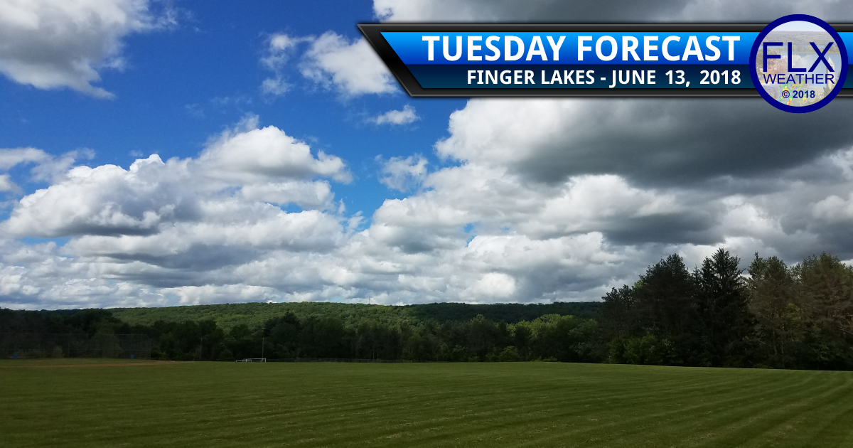 finger lakes weather forecast tuesday june 12 2018 sunny warm wednesday june 13 2018 thunderstorms