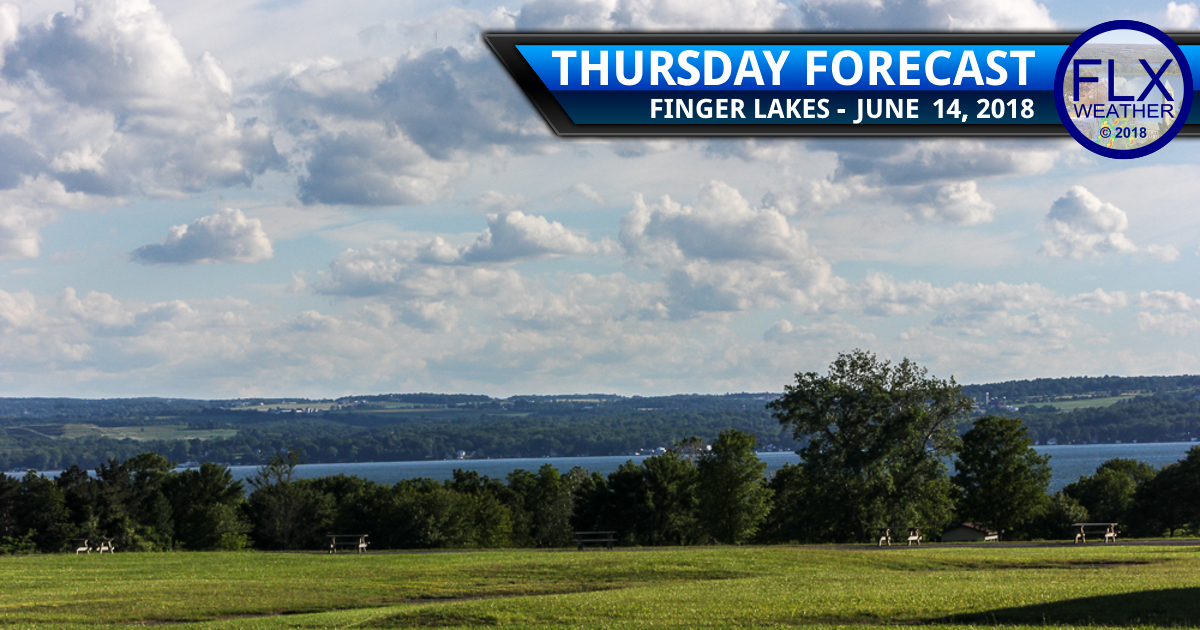 finger lakes weather forecast thursday june 14 2018 breezy sunny cooler