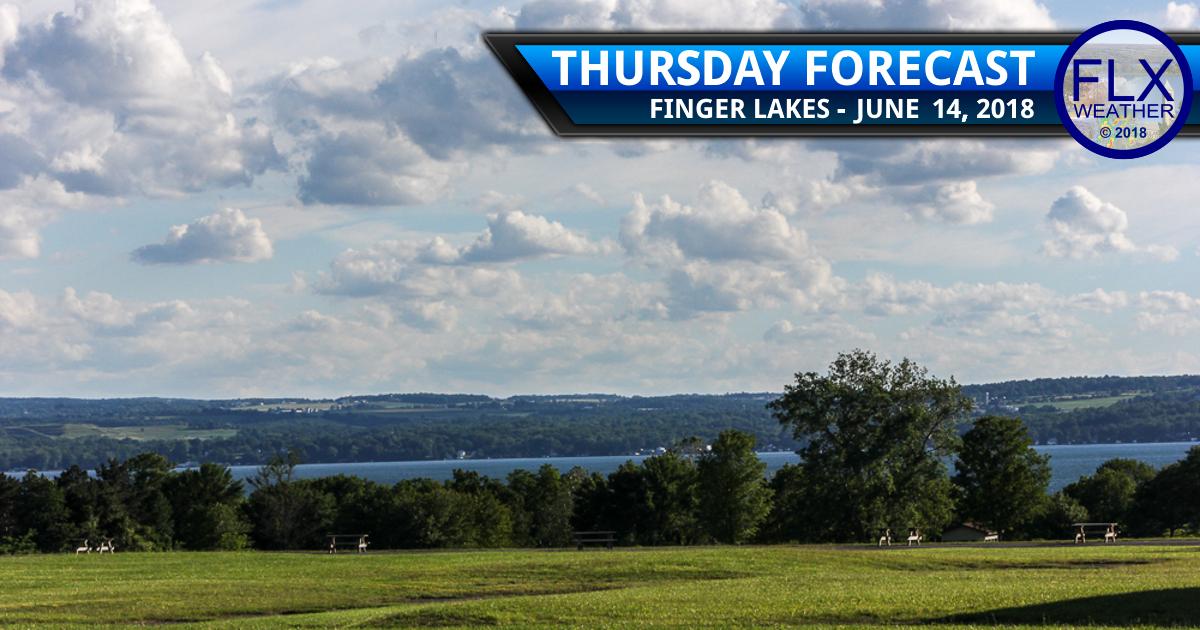 finger lakes weather forecast thursday june 14 2018 breezy sunny cooler
