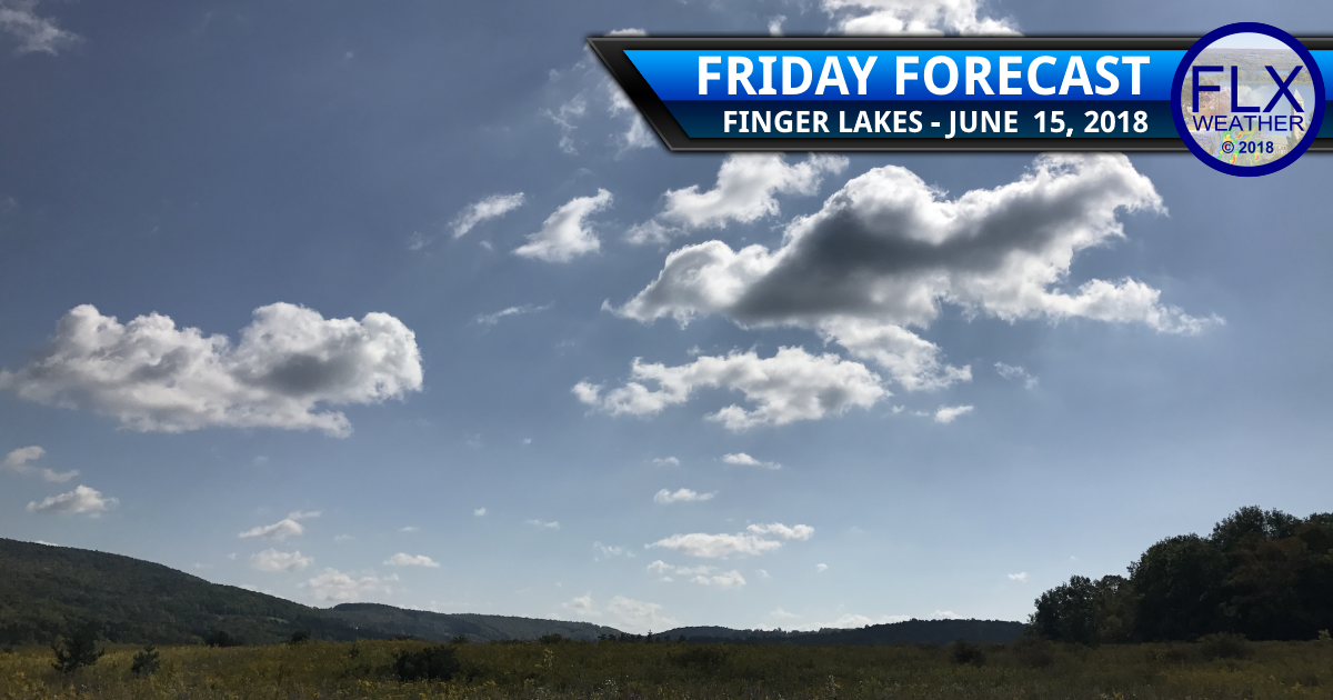 finger lakes weather forecast friday june 15 2018 fathers day weekend temperatures