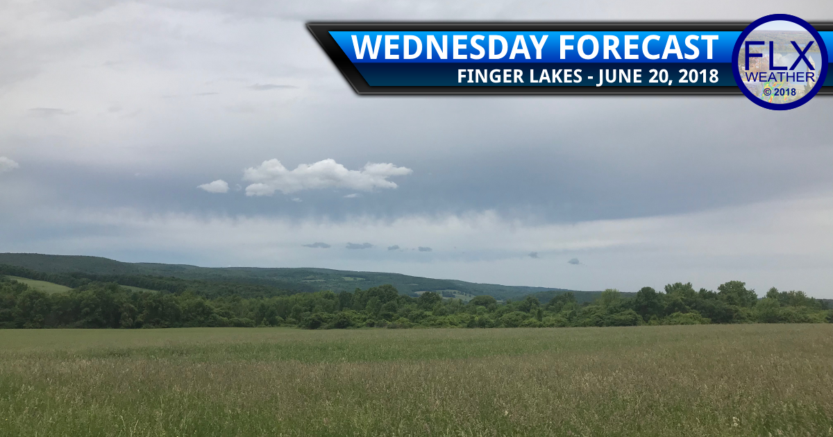 finger lakes weather forecast wednesday june 20 2018 rain showers clouds temperatures