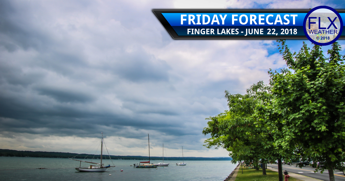 finger lakes weather forecast friday june 22 2018 rain weekend