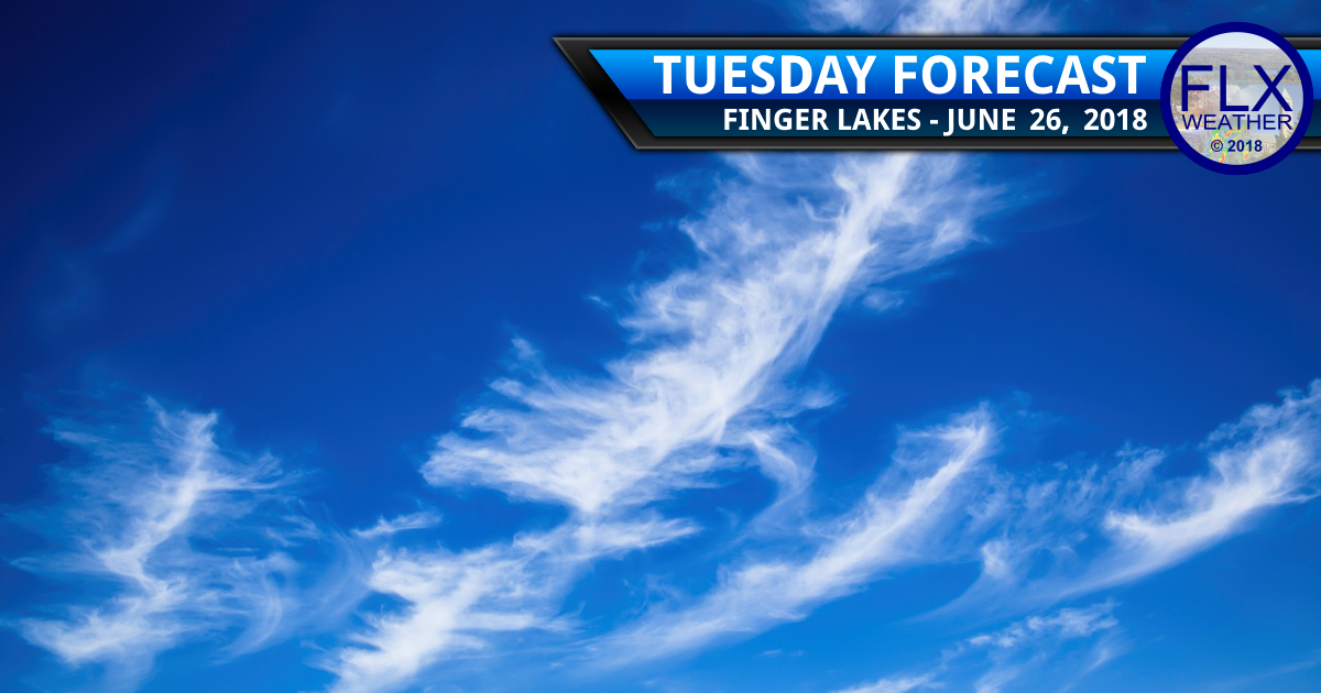finger lakes weather forecast tuesday june 26 2018
