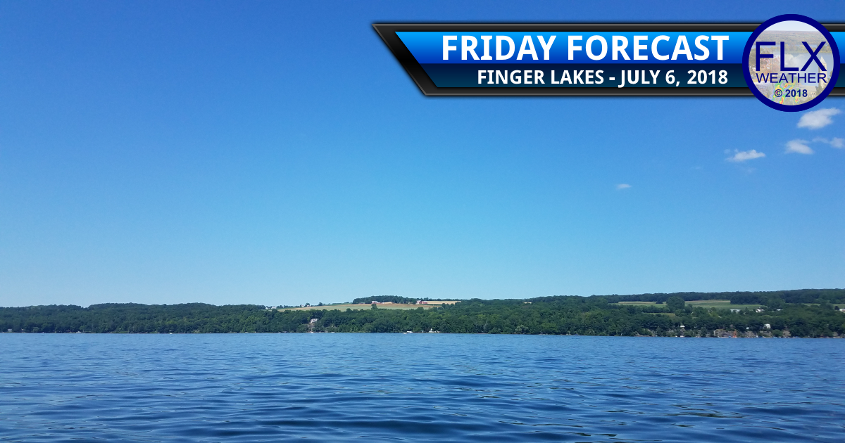 finger lakes weather forecast friday july 6 2018 cold front cooler comfortably gusty winds weekend weather forecast