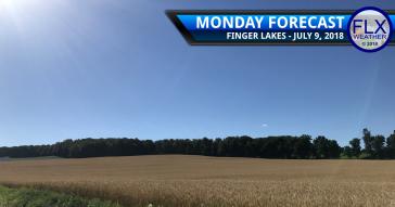 finger lakes weather forecast monday july 9 2018 sunny warm dry