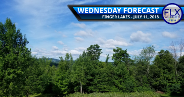 finger lakes weather forecast wednesday july 11 2018 sunny windy cooler