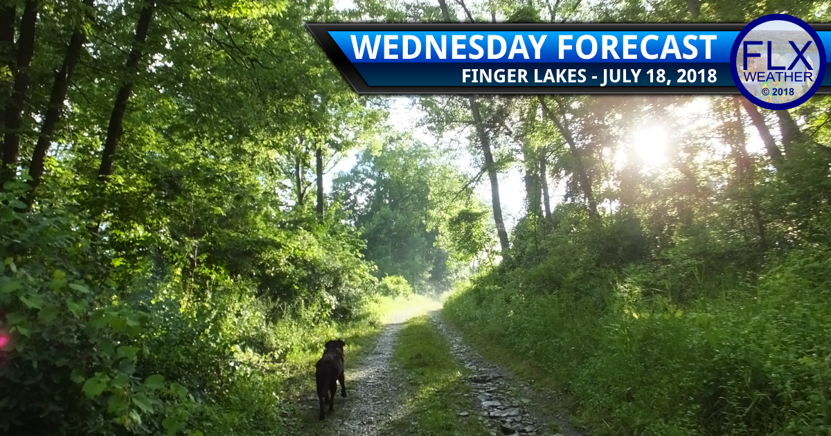finger lakes weather forecast wendesday july 18 2018 comfortable wind