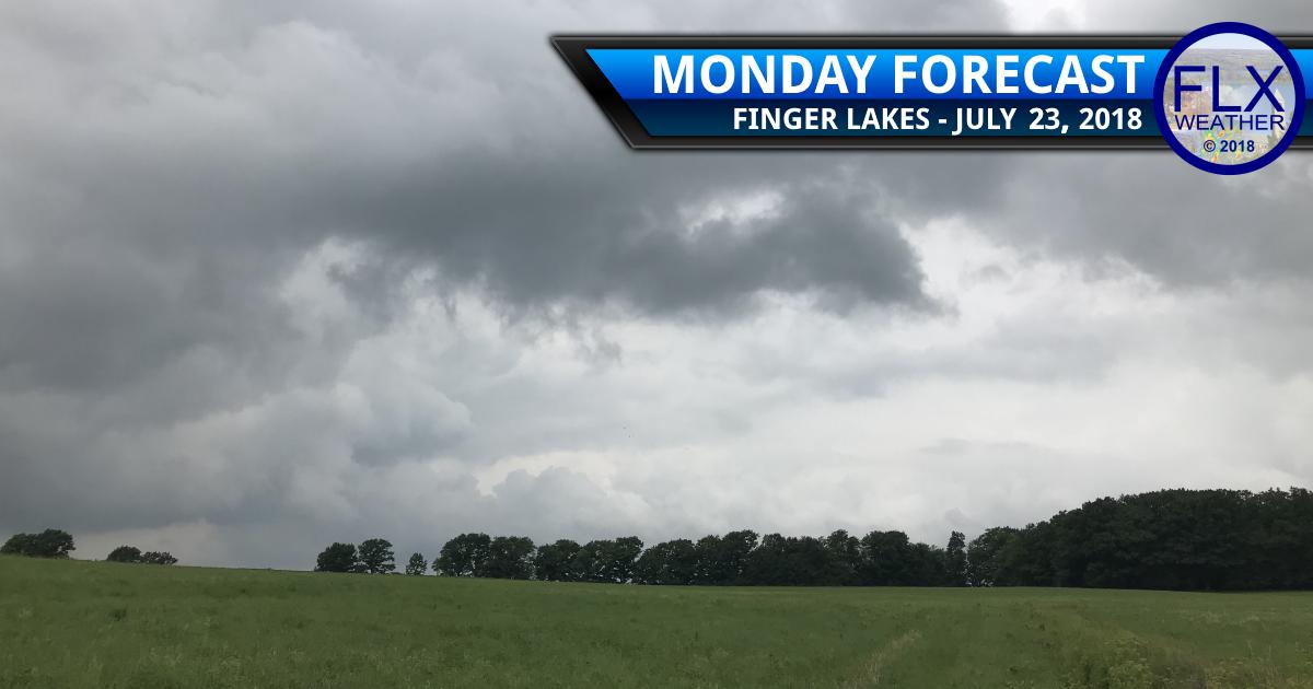 finger lakes weather forecast monday july 23 2018 rainy week flash flood potential