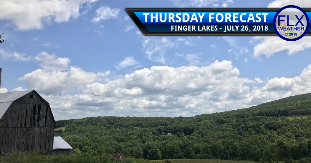 finger lakes weather forecast thursday july 26 2018 sun fog rain thunderstorms
