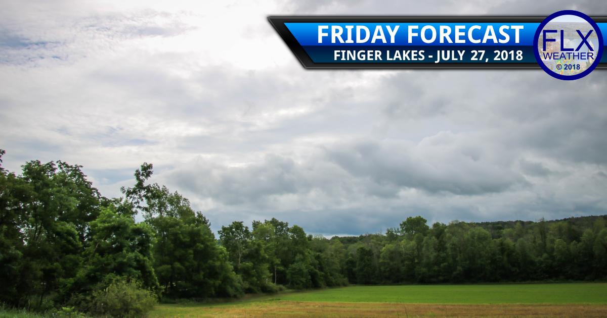finger lakes weather forecast friday july 27 2018 rain thunder weekend weather