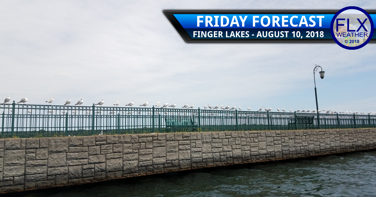 finger lakes weather forecast friday august 10 2018 cold front rain showers less humid weekend weather