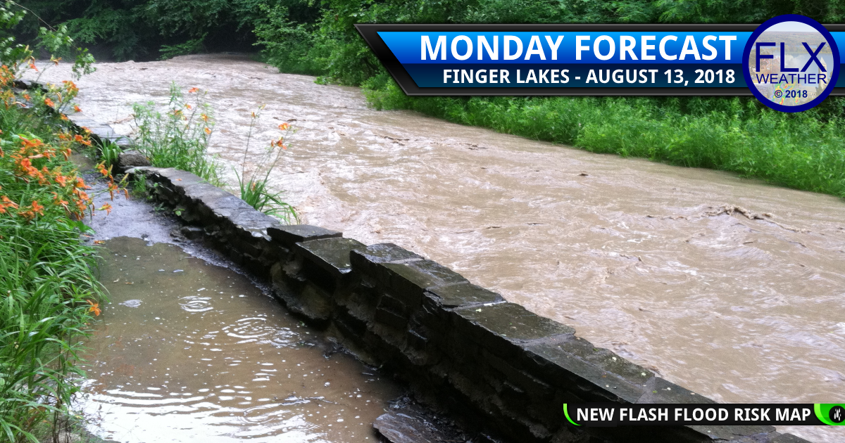finger lakes weather forecast monday august 13 2018 flash flooding meteorologist drew montreuil