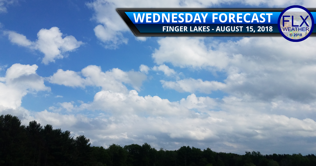 finger lakes weather forecast wednesday august 15 2018 sun clouds showers flash flooding tuesday august 14 2018