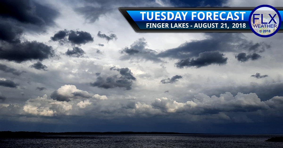 finger lakes weather forecast tuesday august 21 2018 rain wind thunderstorms