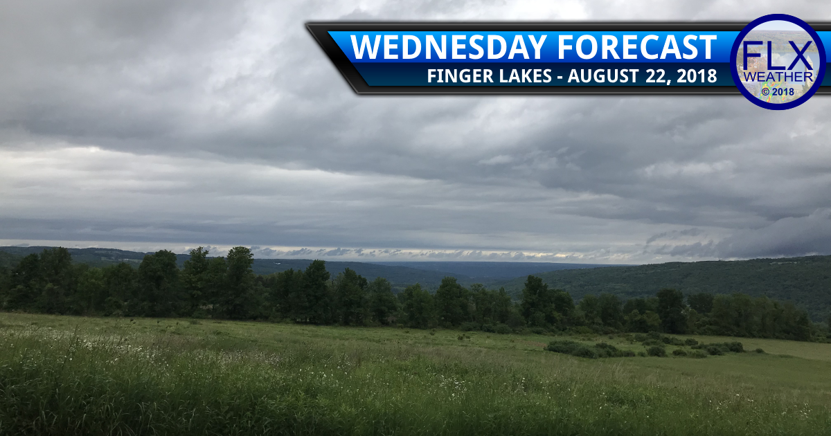 finger lakes weather forecast wednesday august 22 2018 cool cloudy windy showers