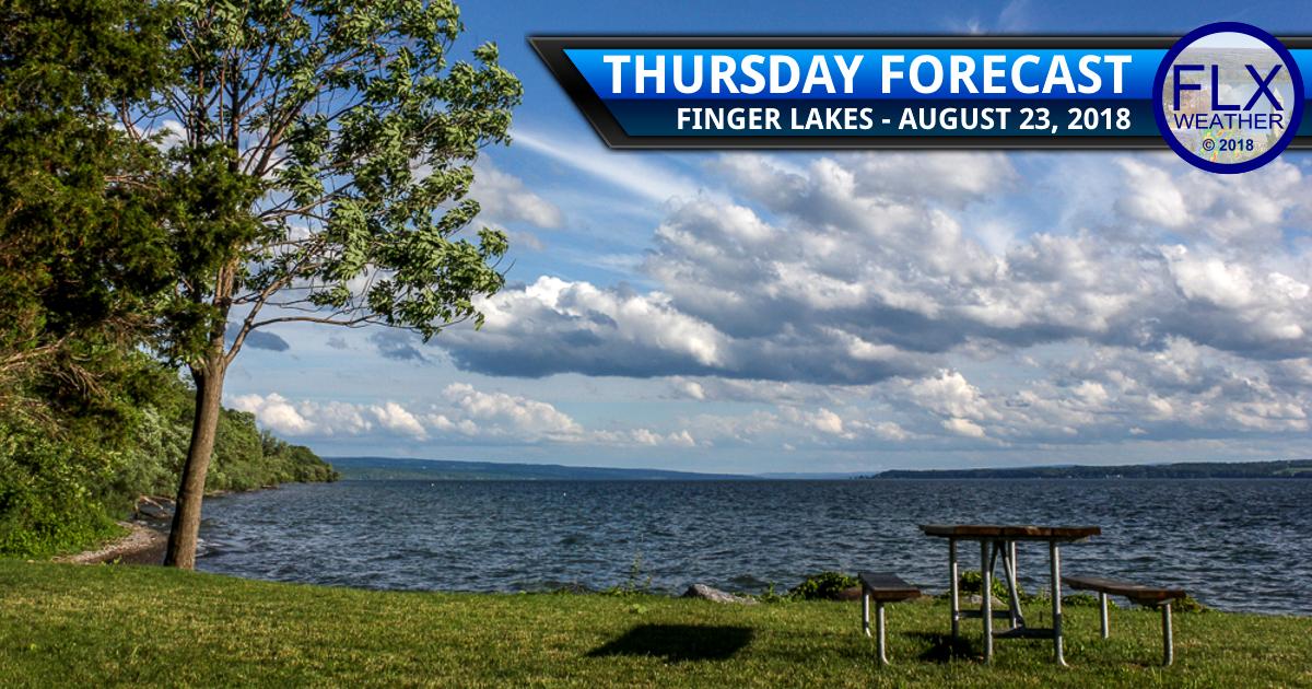 finger lakes weather forecast thursday august 23 2018