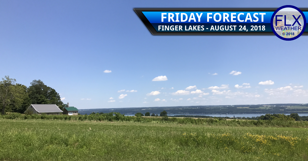 finger lakes weather forecast friday august 24 2018 weekend weather